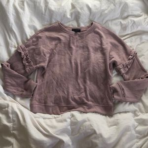 Sweaters - Blush pink sweater with arm detail